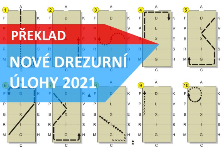 Překlad nových drezurních úloh do češtiny